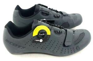 Scott Road Comp Boa Bike Cycling Shoes Gray Reflective Men's Size 43 EU / 9.5 US