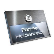 Metzler-Trade Moderne Türklingel aus Edelstahl mit LED Taster AP-AN11080