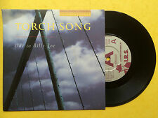 Torch Song - Ode To Billy Joe / The Zebra Room, I.R.S. 117 PROMO COPY Ex+ A1/B1