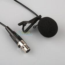 Lavalier Lapel Tie-clip Microphone for Shure Wireless Mini 4 PIN XLR FREE SHIP