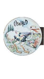 Huntley palmers biscuit tin Oswald