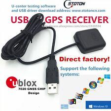 USB GPS Receiver Module Antenna STOTON GMOUSE Ublox gps chipset 0183 NMEA Out