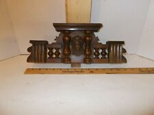 Antique-Original- Walnut-Vienna Regulator Clock- Top Ca.1890