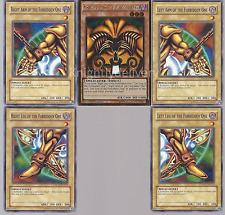 Exodia OTK/FTK Deck - Exodia The Forbidden One - Toon Table - 40 Cards - Yugioh