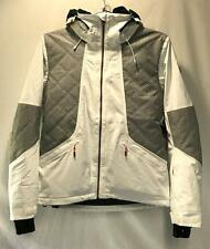 Roxy Atmosphere Women's Winter Snowboard Snow Ski Jacket White Gray XL NEW