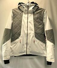 Roxy Atmosphere Women's Winter Snowboard Snow Ski Jacket White Gray XL NEW