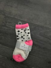 Carters Little Girls 3 Pack Socks, Size 2-4 Years, Nwt