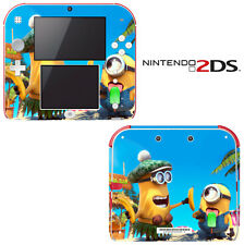 Vinyl Skin Decal Cover for Nintendo 2DS - Despicable Me Minions Banana Song