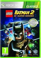 Lego Batman 2 - DC Superheroes For PAL XBox 360 (New & Sealed)