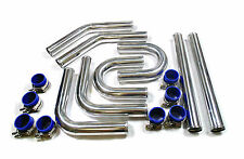 "Universal 2"" 51mm Diameter Aluminium Intercooler Induction Pipe 32 pcs Kit"