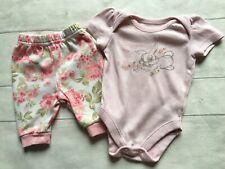 Baby Girl's Clothes 0-3mths - Disney's Thumper Bodysuit Vest Top & Trousers 🐥🐥