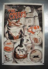 Adventure Time The Creeps Mondo Poster JJ Harrison 24 x 36 LTD 225