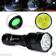 SupwildFire 12000LM Taschenlampe 3x CREE XM-L T6 LED 18650 Flashlight Superhell