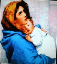 MADONNA WITH BABY ~ NEW Counted Cross Stitch KIT ~ #ML188