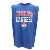Texas Rangers MLB Genuine Kids Youth Size Sleeveless Tank Top Shirt New Tags