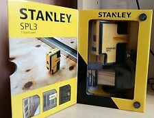 STANLEY ITEM NO. STHT77342 SPL3 3 BEAMS SELF-LEVELING SPOT LASER