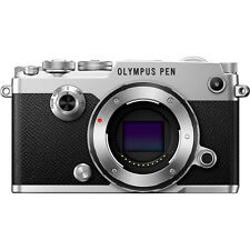 Olympus PEN-F 20MP Mirrorless Micro Four Thirds Digital Camera Body (Silver)