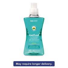 Method 4X Concentrated Laundry Detergent Beach Sage 53.5 oz Bottle 01489Ea