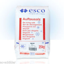Streusalz | Auftausalz von ESCO | 25 kg Sack | Streumittel | kostenloser Versand