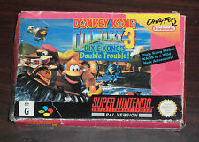SNES. Donkey Kong Country 3. Super Nintendo Entertainment System (PAL EUR/AUS)