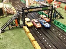 Atlas Motoring Plasticville Crossing Bridge for T Jet Slot Car Train Race Sets