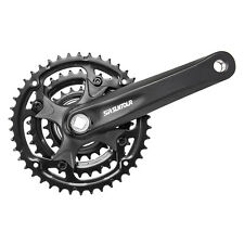 New Suntour XCC Mountain Bike Bicycle Crankset 175mm Square Taper 42-32-22