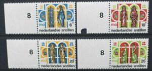 NETHERLANDS ANTILLES 1966 Secondary Education. Set of 4. MNH. SG478/481.