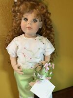 New Artista Charisma Brand Doll Flowers For A Friend.
