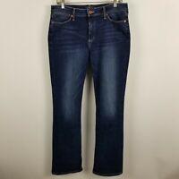 Lucky Brand Orta Premium Hayden Boot Cut Womens Dark Wash Blue Jeans Size 30/10