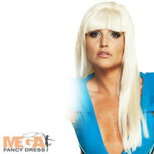 Lady Gaga Long Blonde Fancy Dress Poker Face Ladies Wig