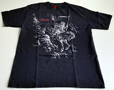 "ORIGINAL ZERO SKATEBOARDS T-SHIRT CHRIS COLE ""PALE HORSE"" size L BLACK OOP! TOP!"