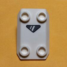 NEW LEGO - Shield - Rocker Plate White 4 stud x 1 - Star Wars 75166