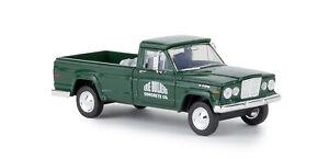 Jeep Gladiator A, Erie Builders (USA), H0 Modèle Auto 1:87, Brekina 19809, Td