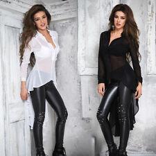 BY ALINA Damentop Top Pulli Bluse Damenshirt Shirt Oberteil Tunika 34 - 38 #B52