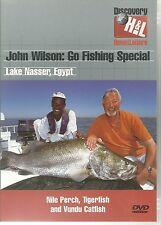 JOHN WILSON GO FISHING SPECIAL LAKE NASSER, EGYPT DVD - NILE PERCH & MORE