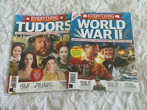 EVERYTHING YOU NEED TO KNOW ABOUT THE TUDORS AND WORLD WAR 2     DOUBLE PACK