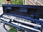 Clean/Fully Adjusted Yamaha Silver Plated Flute YFL221 NICE!