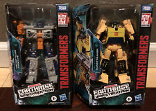 TRANSFORMERS EARTHRISE - WAR FOR CYBERTRON LOT: AIRWAVE & SUNSTREAKER (NEW)
