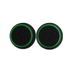 4X Controller Accessories Thumb Stick Grip Joystick Cap for PS3 PS4 XBOX Green