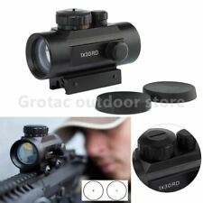 Tactical 1X30 Holographic Dot Sight Airsoft Red Green Dot Sight optics Hunting S