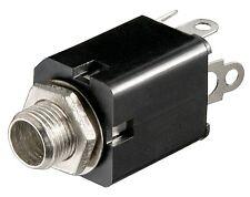 Goobay 2 Stück Klinkeneinbaubuchse 6,35 mm-Mono 150127