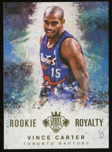2014-15 Panini Court Kings Rookie Royalty #22 Vince Carter Raptors