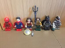 Lego Justice League Wonder Woman Flash Batman Cyborg Aquaman Superman 76087 86
