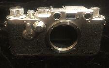 Leica IIIC Black Dial Self Timer Shark Skin