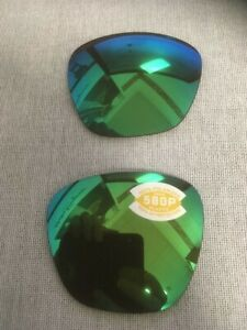 COSTA Del Mar APALACH Polarized 580G Copper / Green Replacement Glass Lenses