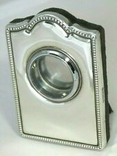 Solid silver watch case/  photo frame.Carrs , Sheffield 1996 .Ideal Xmas gift .