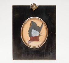 SILHOUETTE OF CAPTAIN JAMES BLACKLOCK ESSEX REGIMENT 1776
