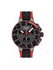 NEW Tissot T-Race La Vuleta Tour de France Chronograph Silicone Strap Watch 45mm