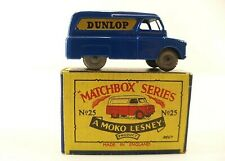Matchbox Serie N.25A Bedford Furgone Dunlop Jamais Usato Scatola in Box