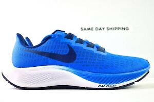 Nike Air Zoom Pegasus 37 (Mens Size 6.5) Shoes BQ9646 400 Blue White Blue Void
